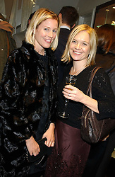 Left to right, SYDNEY FINCH and TV presenter MARIELLA FROSTRUP at a party hosted by the Gussalli Beretta family to celebrate the opening of the new Beretta store, 36 St.James's Street, London SW1 on 10th January 2006.<br />