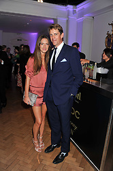 BEN & MARIE CLARE-ELLIOT at the Quintessentially Awards at Number One Marylebone, London on 28th September 2011.