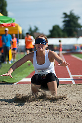 TAIZHANOVA Ainur, KAZ, Long Jump, T11, 2013 IPC Athletics World Championships, Lyon, France