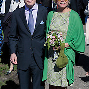 NLD/Rhenen/20120430 - Koninginnedag 2012 Rhenen, Constantijn en partner Laurentien Brinkhorst