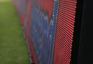 Vanaf het voetbalseizoen 2008-2009 heeft Willem II LED reclameborden in het stadion<br /> Foto: Geert van Erven