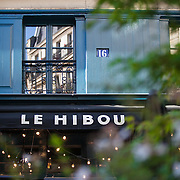 french café - le hibou