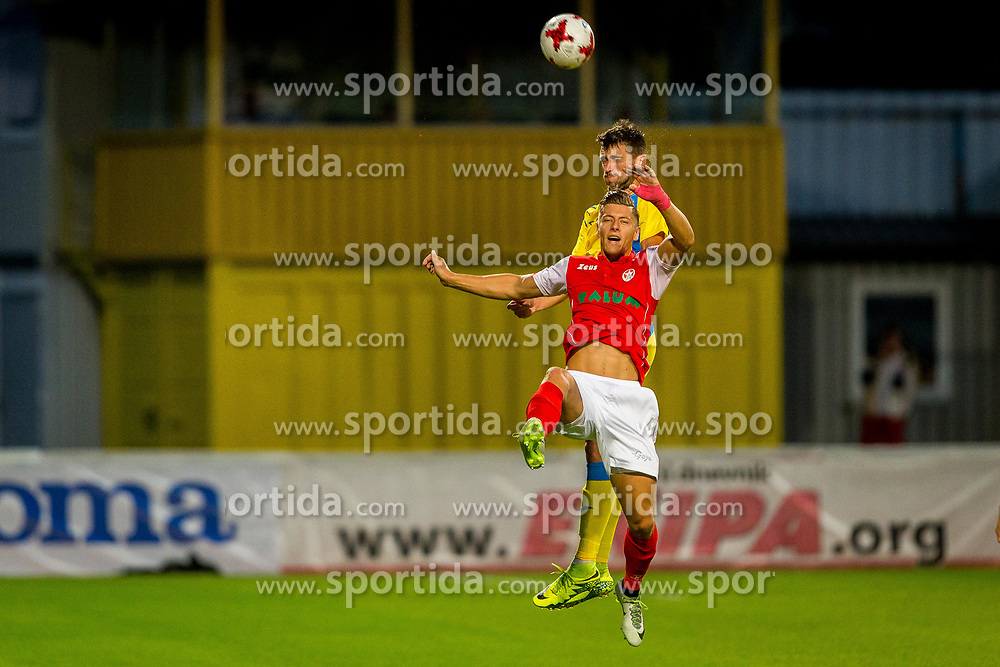 during football match between NK Domžale and NK Aluminij in 6th Round of Prva liga Telekom Slovenije 2017/18, on August 20, 2017 in Sports park Domzale, Domzale. Photo by Ziga Zupan / Sportida