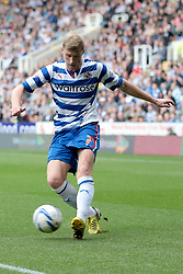 Reading's Pavel Pogrebnyak - Photo mandatory by-line: Nigel Pitts-Drake/JMP - Tel: Mobile: 07966 386802 28/09/2013 - SPORT - FOOTBALL - Madejski Stadium - Reading - Reading V Birmingham City - Sky Bet Championship
