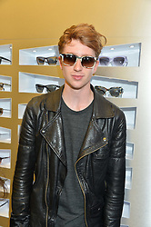 LUKE NEWBERRY at the Prism Boutique Summer Party held at Prism, 54 Chiltern Street, London on 14th May 2014.