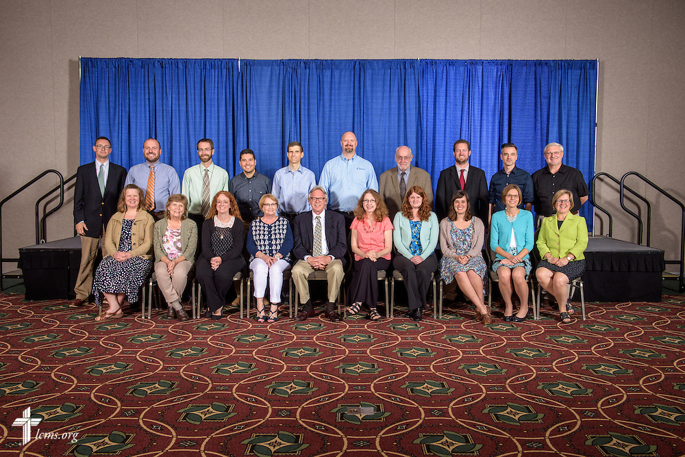 The convention LCMS Communications team on Wednesday, July 13, 2016, at the 66th Regular Convention of The Lutheran Church–Missouri Synod, in Milwaukee. LCMS/Erik M. Lunsford