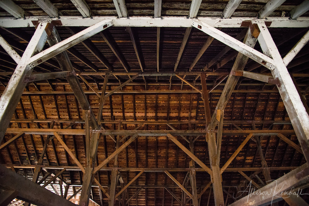 Details of a barn at Pierce Point Ranch, Point Reyes, California