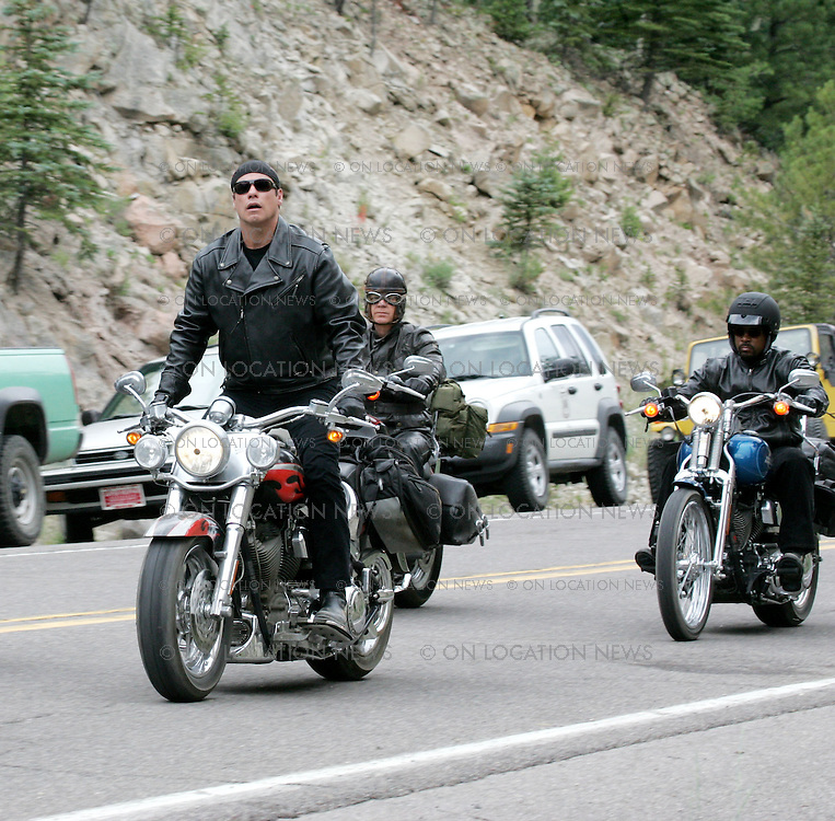 July 19th, 20th &amp; 21st 2005 NEW MEXICO, USA. ***EXCLUSIVE*** John Travolta, William H. Macy, Tim Allen, Martin Lawrence, and John C. McGinley film a skinny dipping scene for &quot;Wild Hogs&quot;.<br /> Photos by Eric Ford/On Location News.com 818-613-3955 info@onlocationnews.com