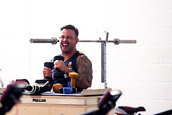 Francois Hougaard of Worcester Warriors during preseason training ahead of the 2019/20 Gallagher Premiership Rugby season - Mandatory by-line: Robbie Stephenson/JMP - 06/08/2019 - RUGBY - Sixways Stadium - Worcester, England - Worcester Warriors Preseason Training 2019