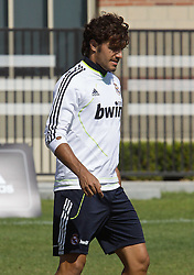 06.08.2010, los Angeles, ITA, USA, Real Madrid Training, Players attend a clinic with childre, im Bild Pedro Leon, EXPA Pictures © 2010, PhotoCredit: EXPA/ Alterphotos/ Santiago +++++ ATTENTION - OUT OF SPAIN +++++ / SPORTIDA PHOTO AGENCY