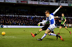 Rory Gaffney of Bristol Rovers takes a shot at goal - Mandatory by-line: Dougie Allward/JMP - 23/12/2017 - FOOTBALL - Memorial Stadium - Bristol, England - Bristol Rovers v Doncaster Rovers - Skt Bet League One