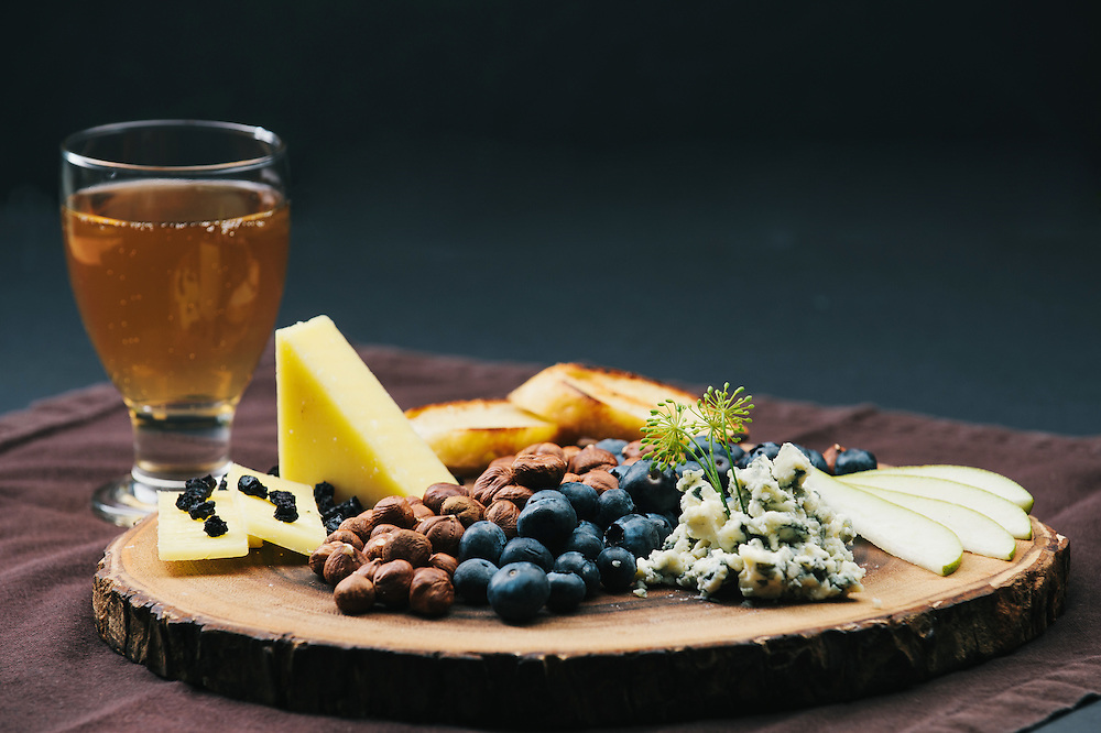 Food Innovation Center and Oregon fruit, cheese and cider
