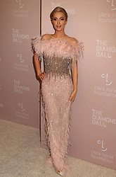 September 13, 2018 - New York City, New York, U.S. - PARIS HILTON attends Rihanna's 4th Annual Diamond Ball held at Cipriani Wall Street. (Credit Image: © Nancy Kaszerman/ZUMA Wire)