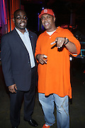 l to r: Earl Lucas and Wild Wayne at The Essence Music Festival Community Outreach Program held at The Ernest Morial Convention Center on July 2, 2009 in New Orleans, Louisiana