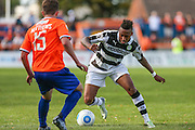Forest Green Rovers Keanu Marsh-Brown (7) runs forward during the Vanarama National League match between Braintree Town and Forest Green Rovers at the Amlin Stadium, Braintree, United Kingdom on 24 September 2016. Photo by Shane Healey.