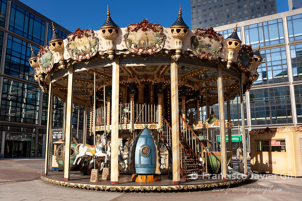 Carousel, La Defense, Paris, Ile de France, France
