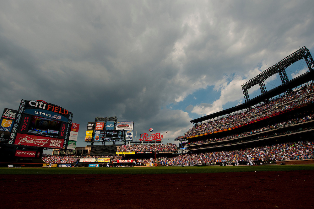 NEW YORK - JULY 16: A general view of the stadium during the game between the Philadelphia Phillies and the New York Mets at Citi Field on July 16, 2011 in the Queens borough of Manhattan. (Photo by Rob Tringali) *** Local Caption ***