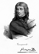 Napoleon I (Napoleon Bonaparte) 1769-1821. Emperor of France from 1804. Napoleon as a young man. Lithograph c1830.