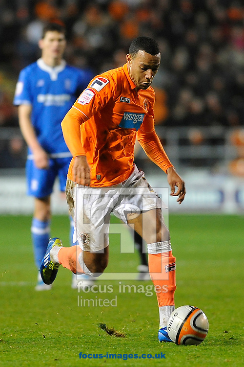 Picture by Ste Jones/Focus Images Ltd.  07706 592282.26/11/11.Blackpool's Matt Phillips during the Npower Championship match at Bloomfield Road stadium, Blackpool.
