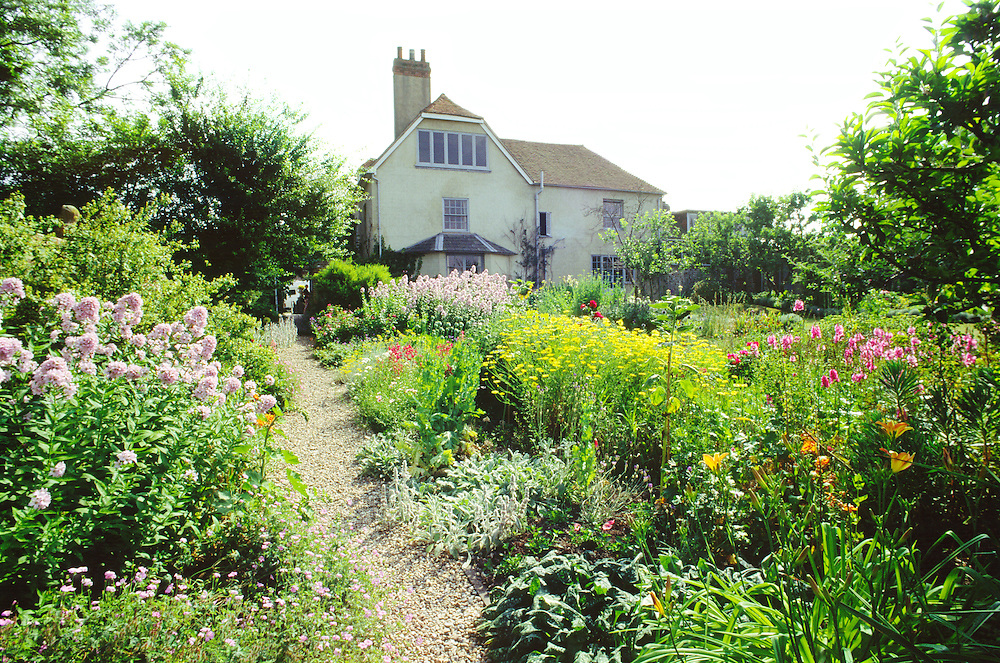Charlston Farm in East Sussex, England. Home of Vanessa and Clive Bell and Duncan Grant. Writers artists of the Bloomsbury Group
