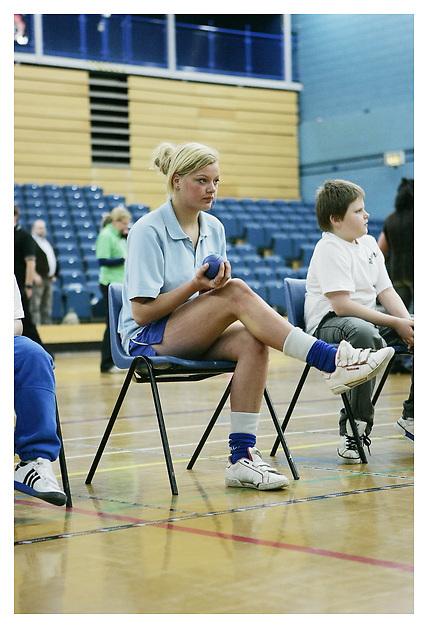 Boccia England, schools finals day..Fenton Manor Sports Centre. 17-10-11
