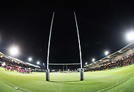 Photographer Simon King/Replay Images<br /> <br /> Guinness Pro14 Round 10 - Dragons v Ulster - Friday 1st December 2017 - Rodney Parade - Newport<br /> <br /> World Copyright © 2017 Replay Images. All rights reserved. info@replayimages.co.uk - www.replayimages.co.uk