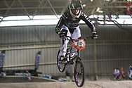 #96 (WALKER Sarah) NZL at the 2014 UCI BMX Supercross World Cup in Manchester.