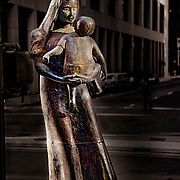 Mother & Child in the City, San Francisco