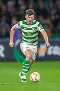 Kieran Tierney (#63) of Celtic FC during the UEFA Europa League group stage match between Celtic FC and Rosenborg BK at Celtic Park, Glasgow, Scotland on 20 September 2018.