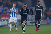 Fulham forward Luciano Vietto (19) on loan from Athletico Madrid, in action  during the Premier League match between Huddersfield Town and Fulham at the John Smiths Stadium, Huddersfield, England on 5 November 2018.
