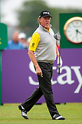 Miguel Angel Jimenez during the final round of the Rolex Senior Golf Open at St Andrews, West Sands, Scotland on 29 July 2018. Picture by Malcolm Mackenzie.