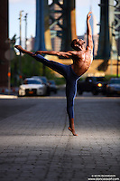 Dance As Art Photography Project- Dumbo Brooklyn, New York with dancer, Imani Williams