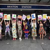 Morning Gloryville 4th birthday - photocall at Brixton,London,UK