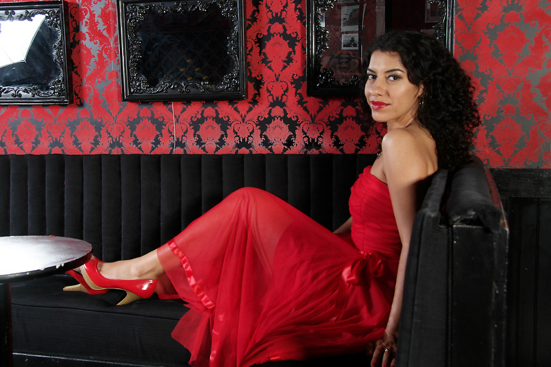 Lysa Flores photo session at EastSide Luv in Los Angeles, CA 7/3/2008.