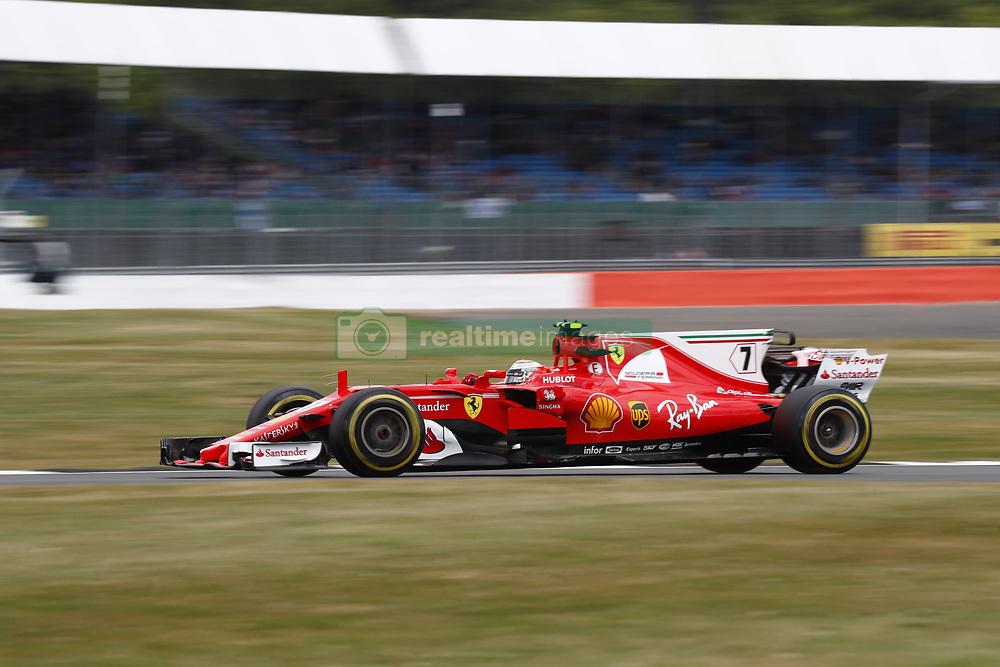 July 14, 2017 - Silverstone, Great Britain - Motorsports: FIA Formula One World Championship 2017, Grand Prix of Great Britain, .#7 Kimi Raikkonen (FIN, Scuderia Ferrari) (Credit Image: © Hoch Zwei via ZUMA Wire)