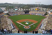 LOS ANGELES, CA - MARCH 21: Korea plays Venezuela in game one of the semifinal round of the 2009 World Baseball Classic at Dodger Stadium in Los Angeles, California on Saturday March 21, 2009. Korea defeated Venezuela 10-2. (Photo by Paul Spinelli/WBCI/MLB Photos)
