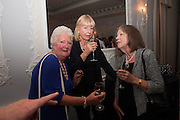 KATIE DOUBLEDAY; MAYA BINKIN; , The launch of 'Solo', the new James Bond novel written by William Boyd,  The Dorchester , PARK LANE, LONDON. 25 SEPTEMBER 2013.
