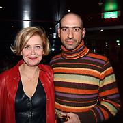 Premiere Mayumana, Mathilde Santing en vriend Zed