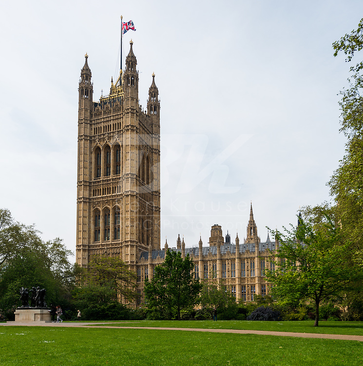 British Parliament in London, England on May 21, 2012.