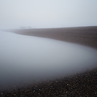 Obligatory Shingle Street visit for the month, the fog makign it even more eerie than usual