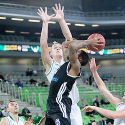 20131016: SLO, Basketball - EuroCup, KK Union Olimpija vs Cimberio Varese