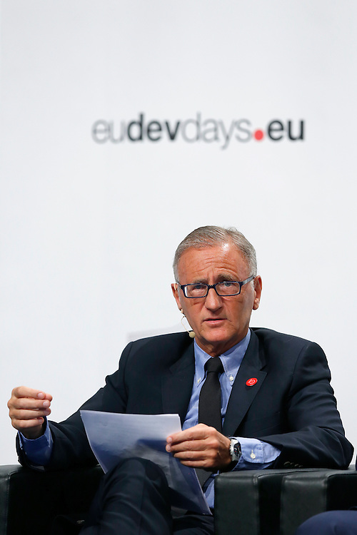 20160615 - Brussels , Belgium - 2016 June 15th - European Development Days - Post-Cotonou Debate André Vallini<br /> Minister of State for Development and Francophonie, attached to the Minister of Foreign Affairs and International Development, France <br /> © European Union