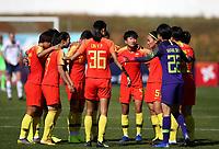 International Women's Friendly Matchs 2019 / <br /> Womens's Algarve Cup Tournament 2019 - <br /> China v Norway 1-3 ( Municipal Stadium - Albufeira,Portugal ) - <br /> Team of China ,Talk prior the match :WANG LINLIN ,LIN YUPING ,WANG SHIMENG ,LI YING ,WANG SHANSHAN ,YAO WEI //<br /> LOU JIAHUI ,HUANG YINI ,WU HAIYAN ,GU YASHA ,LIU SHANSHAN