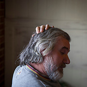Maurizio Giuseppe Di Lisi speaks about Trump inside his restaurant, Joe's Pizza in Marshall, Virginia a small town in Fauquier County, which went to Trump by 25 points in the 2016 election.  After living in the U.S. for more than 30 years, Di Lisi became a United States citizen to vote for Trump.  Voters from Fauquier County and Prince William County, Virginia were asked about their views regarding the media's treatment of President Donald Trump nearly a month into his presidency, on Wednesday, February 15, 2017.  Though they are adjacent counties, Fauquier County went to Trump by 25 points and Prince William County went to Clinton by 21 points.  For The Wall Street Journal