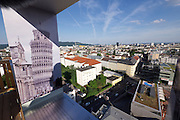 Linz, Austria. HÖHENRAUSCH.3<br /> Die Kunst der Türme (The Art of Towers)<br /> View from Oberösterreich-Turm (Upper Austria Tower)