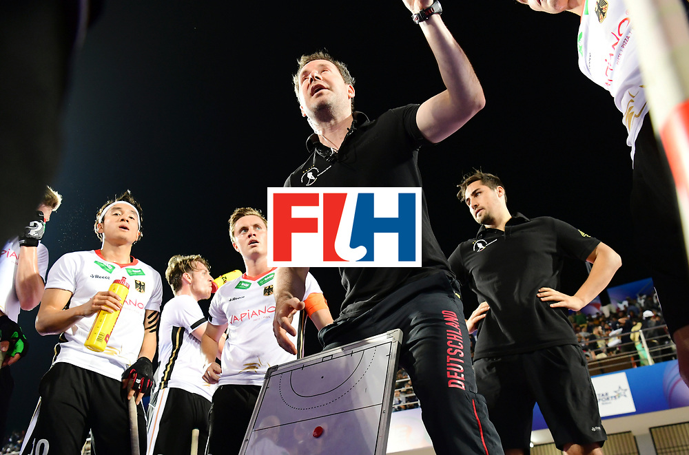 Odisha Men's Hockey World League Final Bhubaneswar 2017<br /> Match id:20<br /> Australia v Germany<br /> Foto: coach Stefan Kermas (Ger) <br /> COPYRIGHT WORLDSPORTPICS FRANK UIJLENBROEK