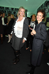 Left to right, HILARY WESTON and BETTINA VON HASE at the opening of Frieze Art Fair 2007 held in regent's Park, London on 10th October 2007.<br />