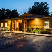 Planned Approach Financial Advisors building exterior, 420 West 98th Street, Kansas City, Missouri.