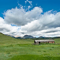 old abandon ranch rocky mountain front choteau mountain