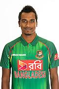Rubel Hossain, Bangladesh cricket team headshots ahead of their New Zealand tour. Cobham Oval, Whangarei. 21 December 2016. Copyright Image: Heath Johnson / www.photosport.nz